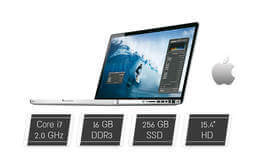 "מחשב נייד MacBook מסך ""15.4"