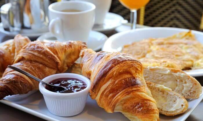 4 ארוחת בוקר 1+1, מסעדת לה מולין דורי הכשרה בירושלים