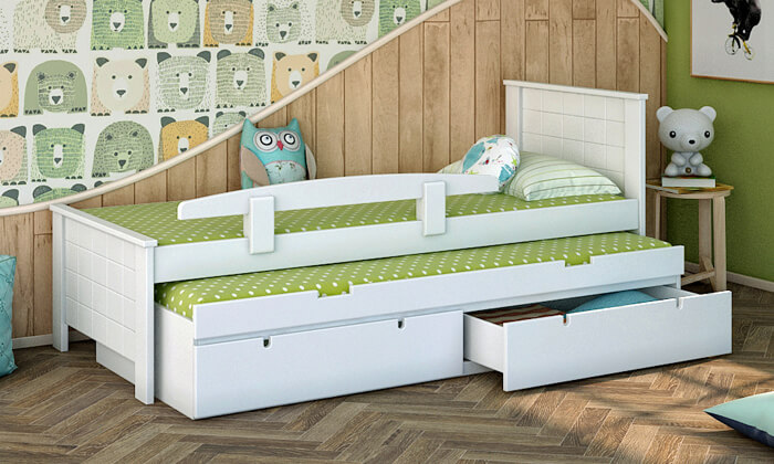 6 שמרת הזורע: מיטת ילדים דגם ספינר