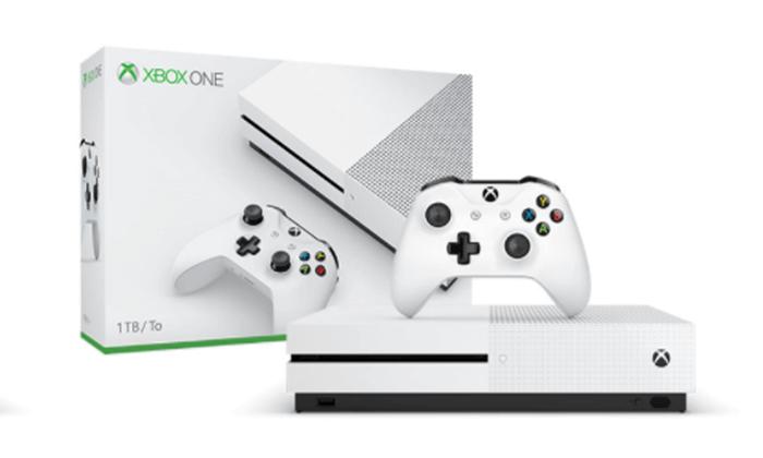 2 קונסולת Xbox One S בנפח 1TB עם שלט