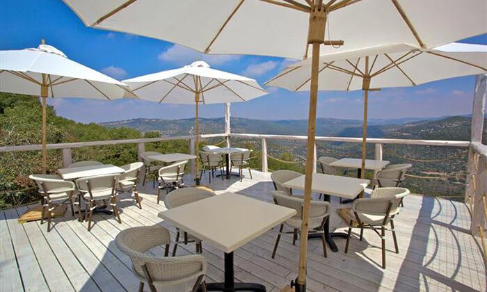 2 ארוחה זוגית כשרה, מסעדת פיצ'ונקה בפארק נס הרים