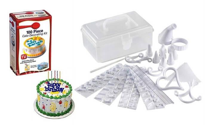 2 ערכה לקישוט העוגה