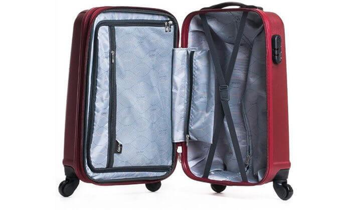 4 סט 3 מזוודות קשיחות CALPAK