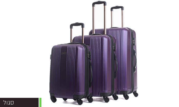 5 סט 3 מזוודות קשיחות CALPAK
