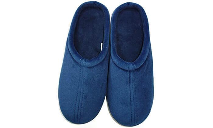 5 זוג נעלי בית מחממות עשויות ויסקו