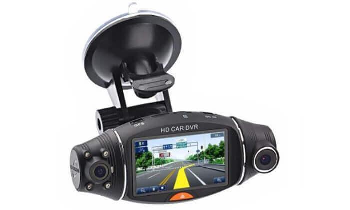 2 מצלמת דרך דו-כיוונית עם GPS