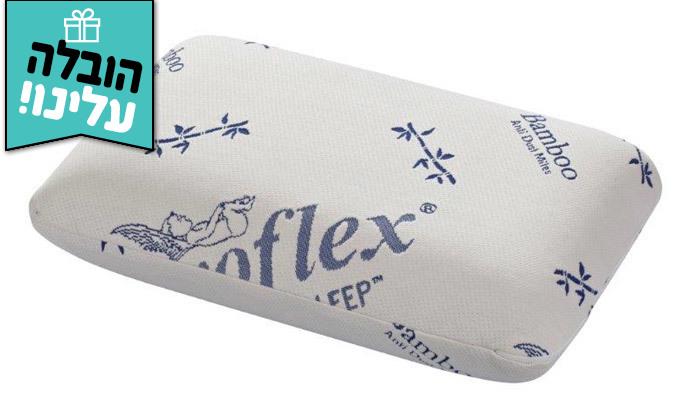 6 מזרן זוגי אורתופדי Aeroflex כולל משלוח חינם וזוג כריות
