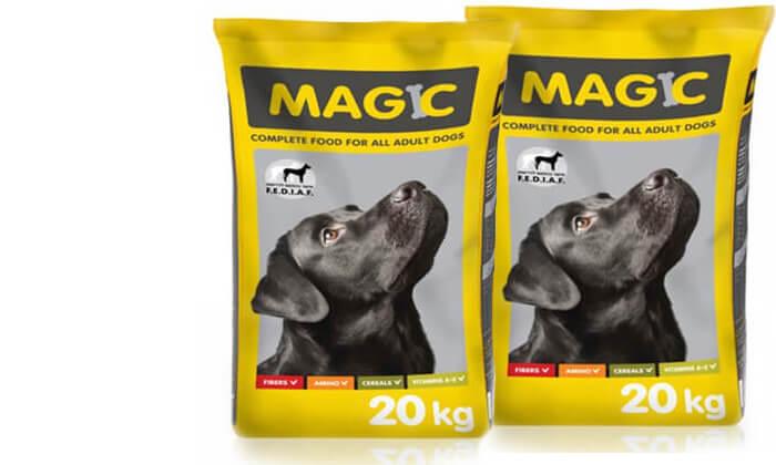 3 מזון יבש לכלב MAGIC