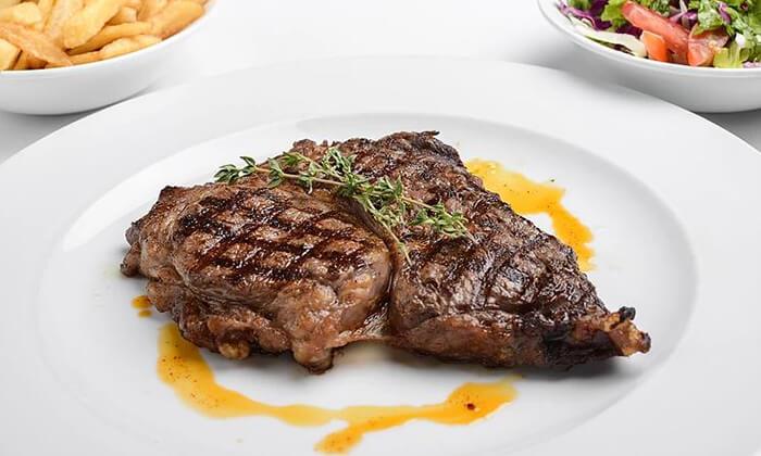 4 ארוחה זוגית במפגש הסטייק, תל אביב