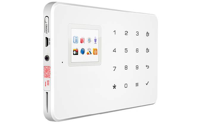 5 מערכת אזעקה אלחוטית WiFi כולל גיבוי SIM-Card