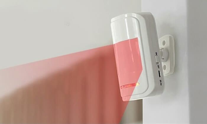 6 מערכת אזעקה אלחוטית WiFi כולל גיבוי SIM-Card