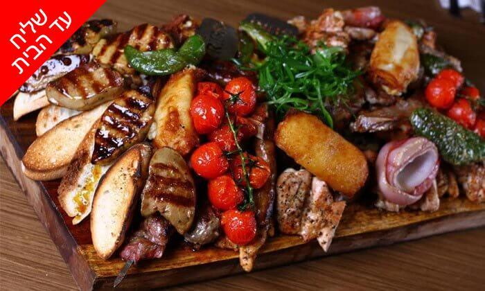3 ארוחת בשרים משפחתית ממסעדת הבשרים הכשרה ריבס - משלוח חינם באשדוד