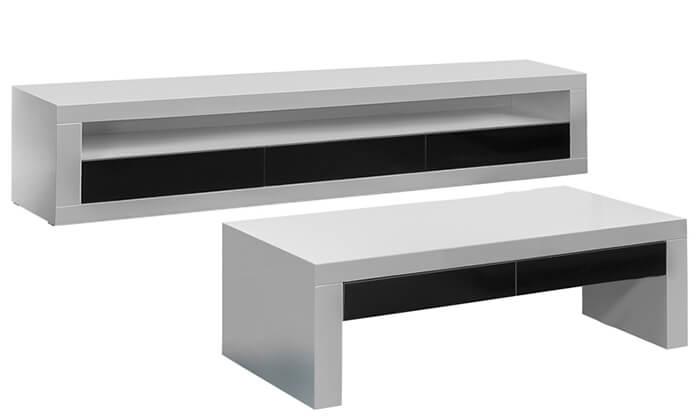 5 מערכת מזנון ושולחן לסלון LEONARDO
