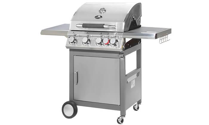 2 גריל גז מורכב 4 מבערים Australia Chef דגם APOLLO 4