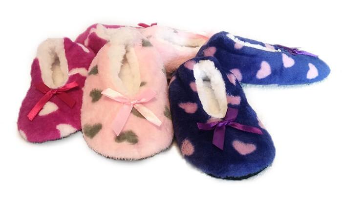 2 נעלי בית לחורף לילדים