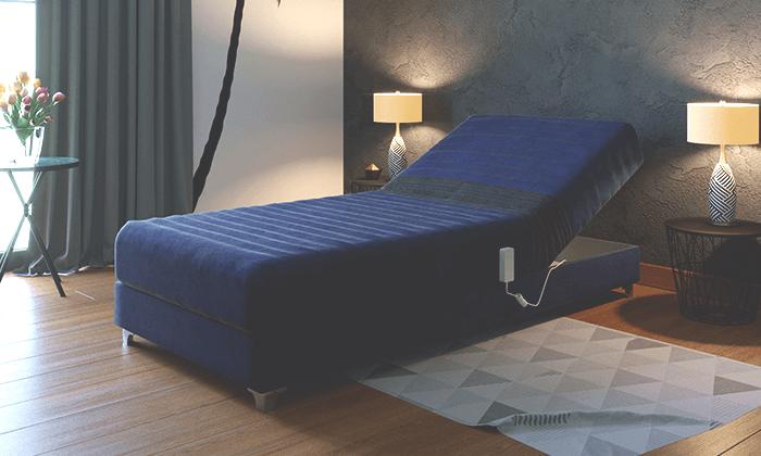 4 מיטה אורטופדית חשמלית