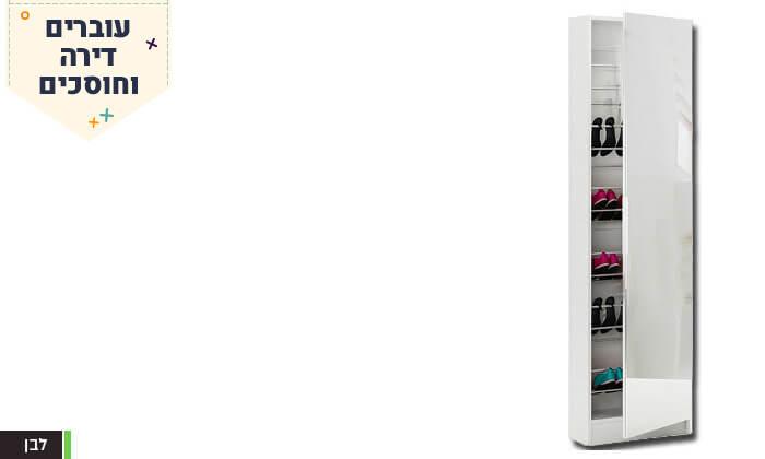 6 ארון נעליים עם דלת מראה Homax