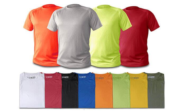 3 מארז 5 חולצות Dri-Fit - משלוח חינם