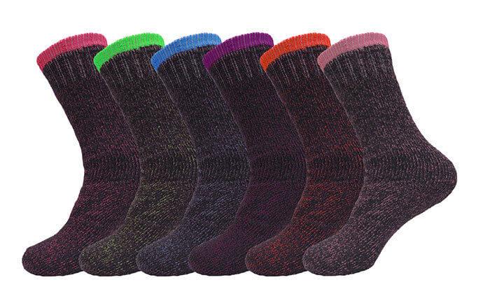2 מארז 18 זוגות גרביים תרמיים HomeTown