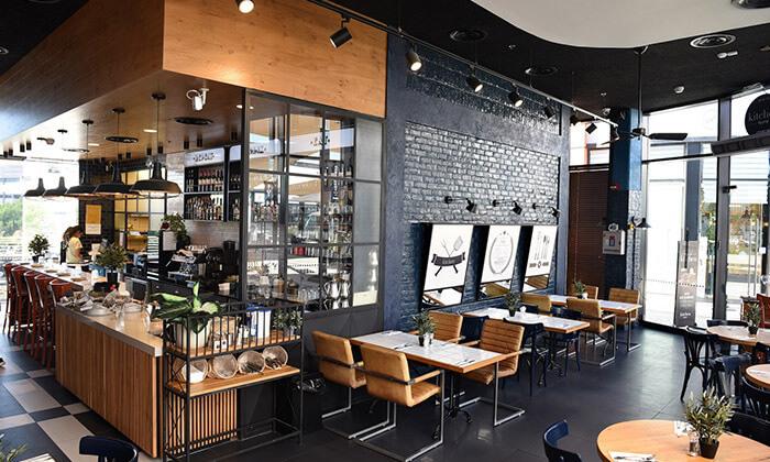 3 ארוחה זוגית במסעדת גרג קיטשן הכשרה למהדרין, יבנה