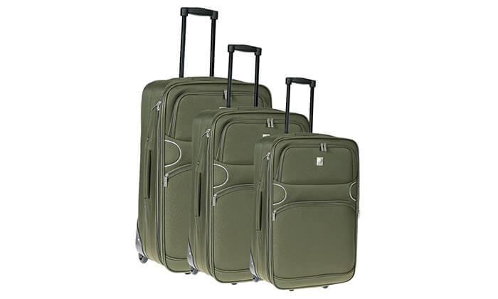 2 סט מזוודות בגדלים שונים