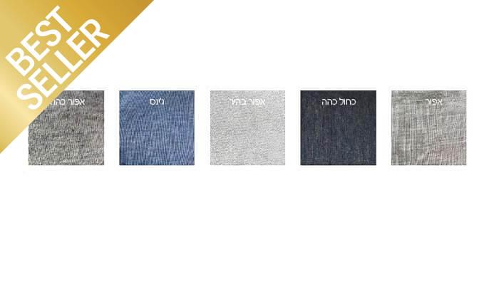7 סט מצעי טריקו ג'רסי 100% כותנה - צבעים לבחירה