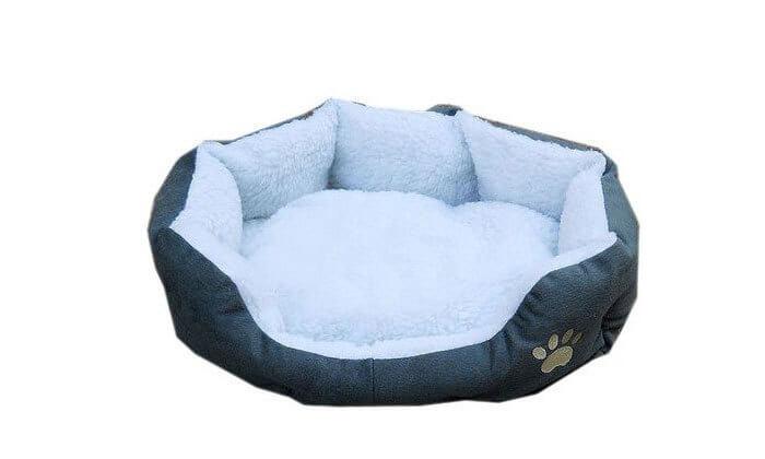 4 מיטת פליז לכלב או לחתול