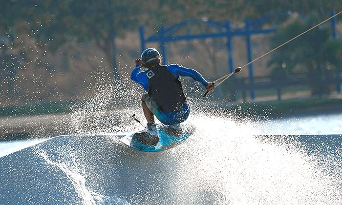 2 סקי מים בפארק דרום בתל אביב