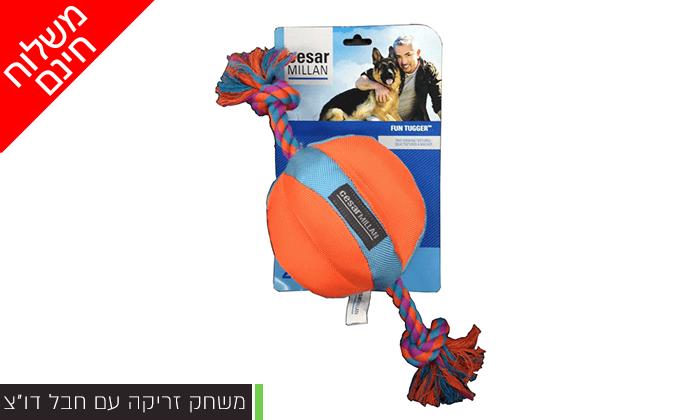 3 צעצוע לכלב - משלוח חינם!