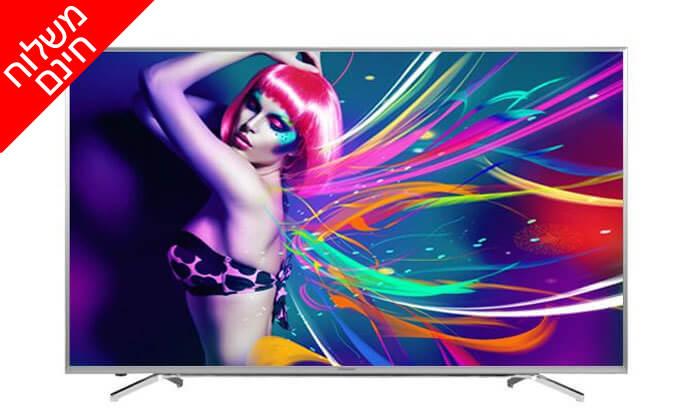 2 טלוויזיה חכמה ''65 Hisense 4K - משלוח חינם