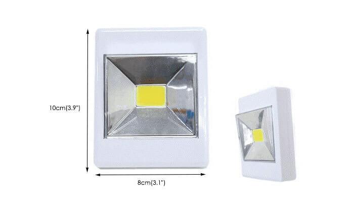 4 מארז 9 נורות LED ניידות