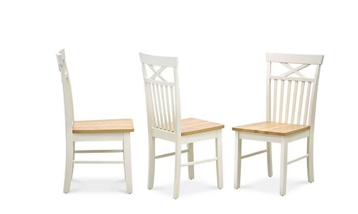 4 שמרת הזורע - פינת אוכל עגולה עם 4 כיסאות