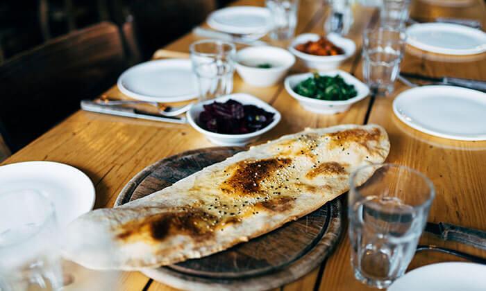 6 ארוחת בשרים זוגית במסעדת איסקנדר הכשרה למהדרין, נהר הירדן