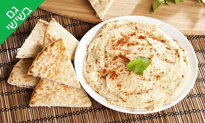 2 ארוחת חומוס ב'עולם האוכל', חיפה