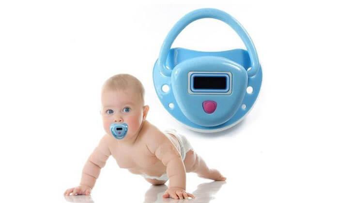 3 מדחום מוצץ לתינוק