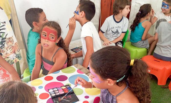 3 סדנת ציורי פנים בסטודיו בתיה צוקר, רמת גן