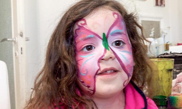 4 סדנת ציורי פנים בסטודיו בתיה צוקר, רמת גן