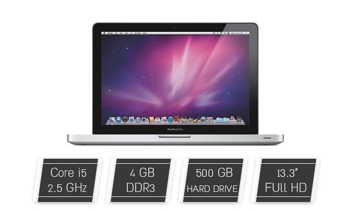 4 מחשב נייד Apple MacBook עם מסך 13.3 אינץ'