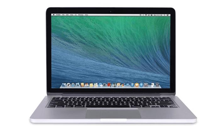 4 מחשב נייד Apple MacBook Pro Retina עם מסך 13.3 אינץ'