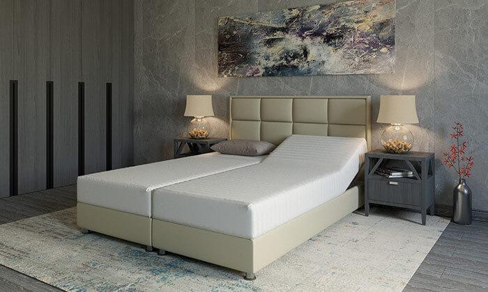5 מיטה זוגית אורטופדית מתכווננתRAM DESIGN