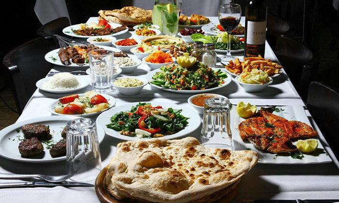 3 ארוחה במסעדת שיפודי התקווה בנמל תל אביב