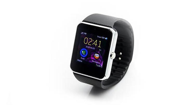 6 שעון יד חכם עם Bluetooth