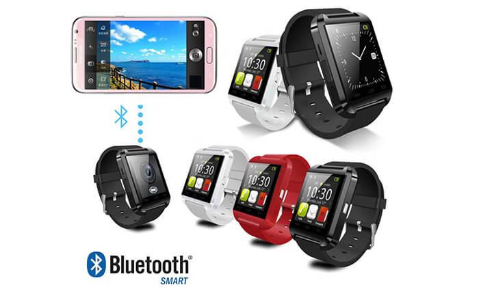 2 שעון יד חכם עם Bluetooth