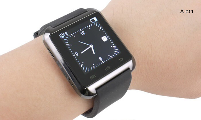 4 שעון יד חכם עם Bluetooth