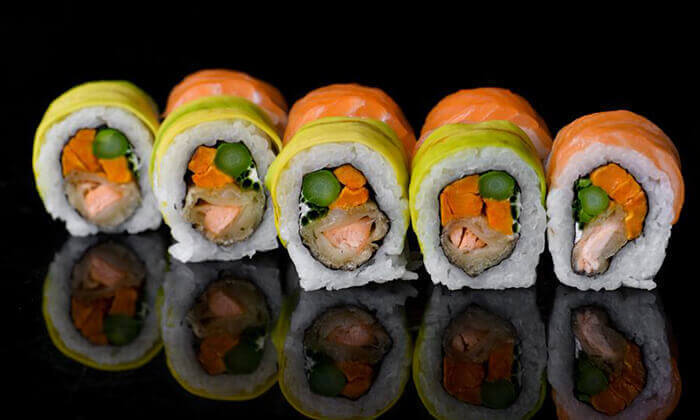4 ארוחת סושי זוגית בסושיה קריית אתא