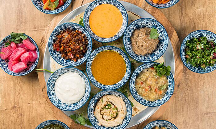 """9 ארוחה זוגית במסעדת """"צ'ומה"""" הכשרה בגן העיר, ת""""א"""