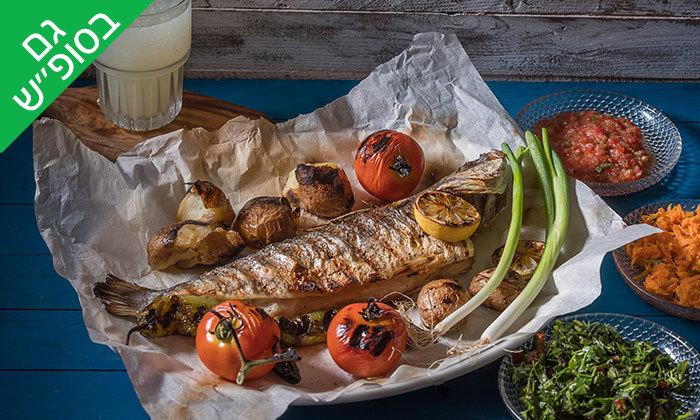 3 ארוחה זוגית במסעדת ג'קו מאכלי ים, רמת השרון
