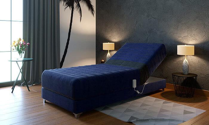 3 מיטת יחיד אורטופדית חשמלית RAM DESIGNE