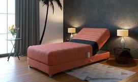 מיטת יחיד חשמלית אורטופדית
