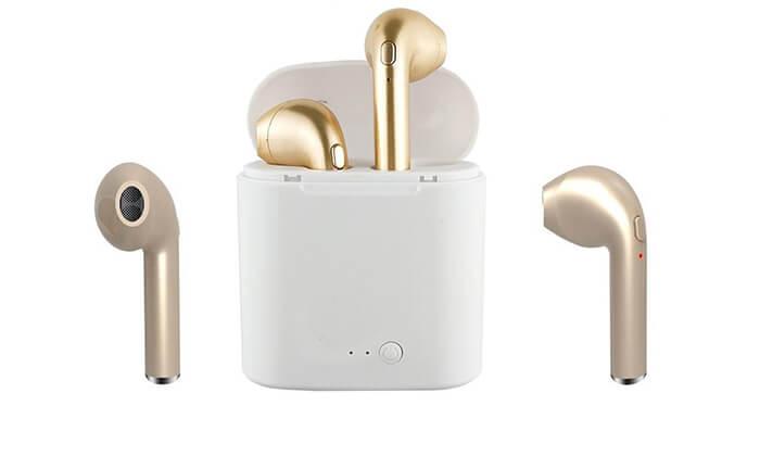 7 אוזניות Bluetooth אלחוטיות - דגמים וצבעים לבחירה